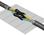 Heat Shrink Cable Joint Kits SPA 240-300 : 2, 3, 4 Core 240-300sqmm XLPE/SWA or EPR/GSWB