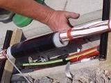 33kV Single Core Joint, XLPE 50-240sqmm Cold Shrink Joint Kit - 94-AK620-1/C