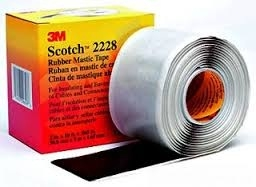 3M Scotch 2228 Tape - Bus Bar Splice, In-Line Split Bolt Splice & In-Line Splice Crimp Connector