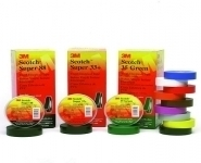 3M Scotch Electrical Tapes - PVC Tapes, Scotch 22, 33+, 35, 88