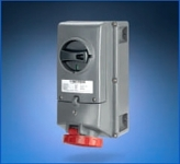 Scame ADVANCE GRP EX - ATEX Hazardous Area Zone 22 Socket (Interlocked-switch Socket Outlet)