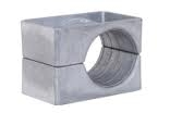 Aluminium Cable Cleats - Ellis Patents Single Hole Aluminium Cable Cleats