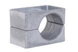 Aluminium Cable Cleats - Ellis Patents Single Hole Aluminium Cable Cleats