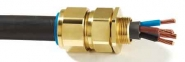 CW Brass LSF Cable Glands - CMP Solo Cable Glands Low Smoke & Fume, Zero Halogen