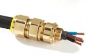 CMP E1W40 LSF Brass Cable Gland (Zero Halogen) - 27.9-40.4mm
