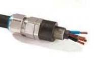 CMP A348W-75S Zen Insulated Aluminium Cable Gland 59.0-72.1mm