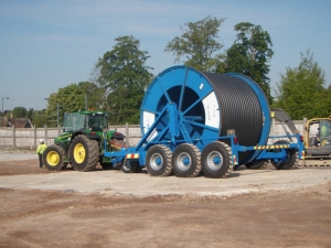 Cable Drum Trailers Up to 50,000Kg Capacity