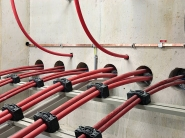 Roxtec Substation Cable Seals For Triplex Cables Prevent Water Ingress & Flood Damage