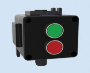 Control Stations (GRP) Hazardous Area - Double Green & Red Pushbuttons - Walsall LCP170