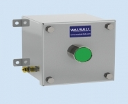 Stainless Steel Control Station - Double Pole Changeover - Walsall LCS103-104
