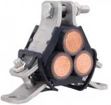 Ellis Patents AR5-A63 Atlas Trefoil Cable Cleat - 76-82mm