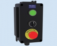 Control Stations (GRP) - Three Function Customised Control Station - Walsall LCP300