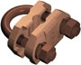Furse Earth Clamps - Rod to Tape Clamps Type A