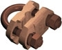 Furse Earth Clamps - Rod to Cable Clamps Type G