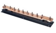 Furse LK207-10 Earth Bar - 10 Way Copper Earthing Bar