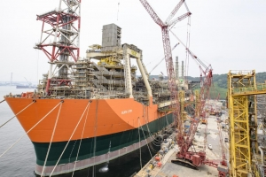 Watch BP Build An FPSO In 1 Minute (Time Lapse Video)