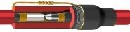 HV Heat Shrink Joint, Single Core XLPE 25-70sqmm - 6.6-7.2-11-12kV  Cable Joint SPJ12X-25-70-1