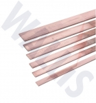 Hard Drawn Copper Bars - BS1433/BS2874 C101