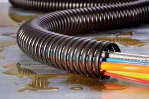 Hellermann Tyton Cable Protection - Spiral Binding For High Resistance Against Oil