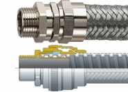 LFHUBRD Flexicon Flexible Conduit - Galvanised Steel Core, Extra LFH Coated, Stainless Steel Conduit