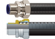 LTP Flexicon Flexible Conduits - Galvanised Steel, PVC Coated, Liquid Tight Overbraid Conduit