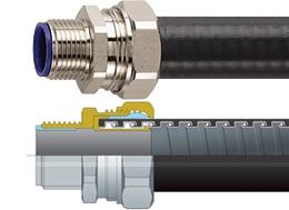 how to cut flexible conduit non metallic