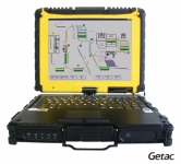 Ecom Getac V100 Ex2 - Hazardous Area Zone 2 Laptop (ATEX Certified)