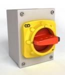 Mild Steel Isolators IP65 20A-63A
