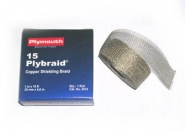 Plymouth 15 Plybraid Tinned Copper Shielding Tape
