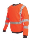 ProGARM 5648 - Rail GO/RT 3279 Hi-Viz Visibility Orange Sweatshirts