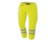 ProGARM 7418 Flame Resistant Anti-Static Hi Vis Arc Flash Yellow Trouser