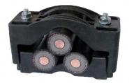 Prysmian Bicon U375AB03 Dutchclamp Trefoil Cable Cleat - 51-69mm
