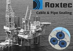 Roxtec Cable & Pipe Sealing Transits For Offshore Oil & Gas Industry