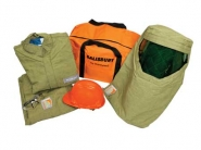 Salisbury Pro-Wear HRC4 Arc Flash Clothing & Protection Kit Premium Lightweight 40 cal/cm²