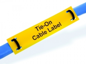Silver Fox Tie-On Cable Labels For Harsh & Hazardous Area Cable Identification