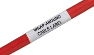 Silver Fox Wrap-Around Cable Labels