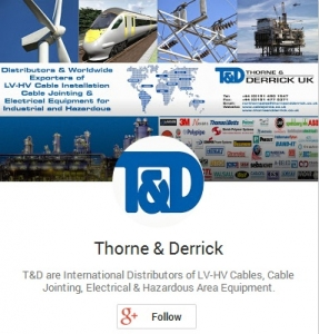 Thorne and Derrick - Leading Electrical Industry Google Plus Page