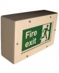 Zone 1 (ATEX) Bulkhead Fluorescent Fire Exit Luminaire - HDL108 (36 Watts)