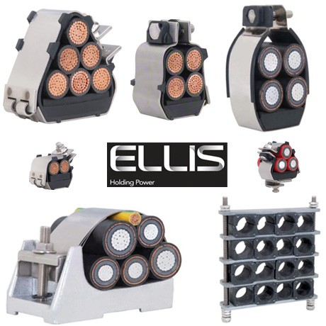 Ellis Patents Cable Cleats & Cable Clamps