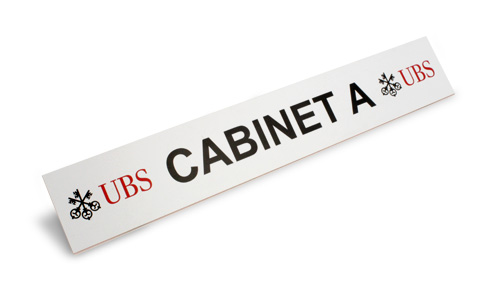 Silver Fox cabinet Labels