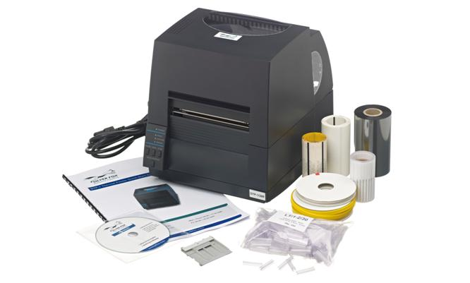Silver Fox Fox In A Box Cable Labelling Kit - Thermal Printer
