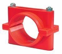 High Voltage Cable Cleats - Red Cable Cleats 11kV 33kV