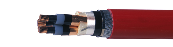 11kV 33kV BS6622 High Voltage Power Cables - Red Cable Ties