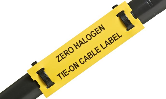 Silver Fox Cable Labels - Low Smoke Zero Halogen