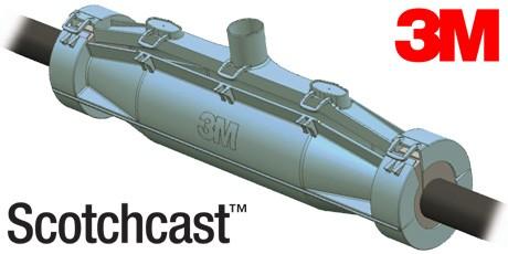 3m Scotchcast 15kv Induced Voltage Pilot Cable Joint