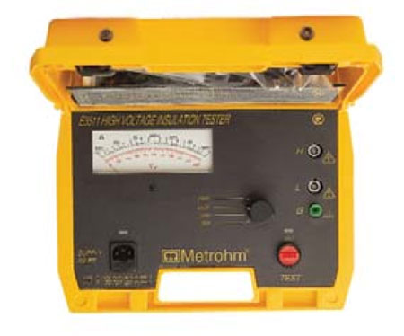 Metrohm 5kV Insulation Tester