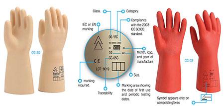 CATU LV Insulating Rubber Gloves