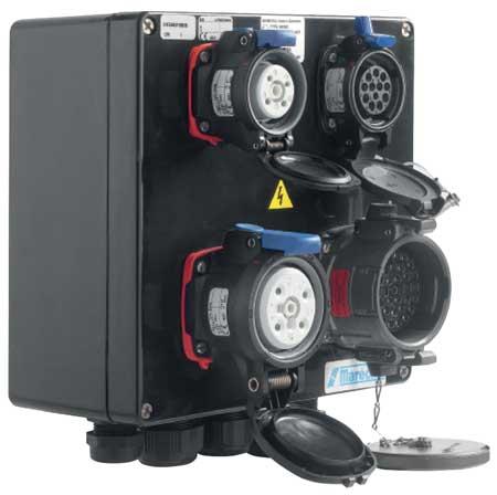 Marechal MXBS Socket Outlet Combination Boxes for Hazardous Areas