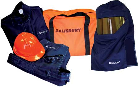 Salisbury Pro-Wear HRC2 Arc Flash Clothing & Protection Kit 20 cal/cm� ATPV