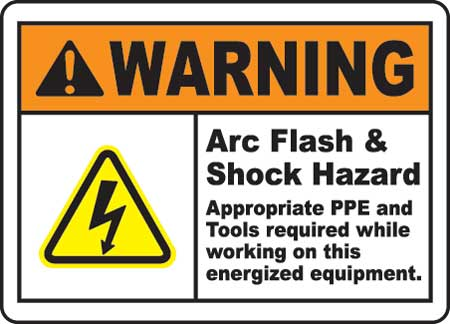 Arc Flash & Shock Hazard - PPE Personal Protective Equipment